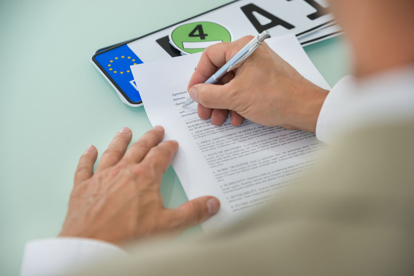 Comment faire sa carte grise